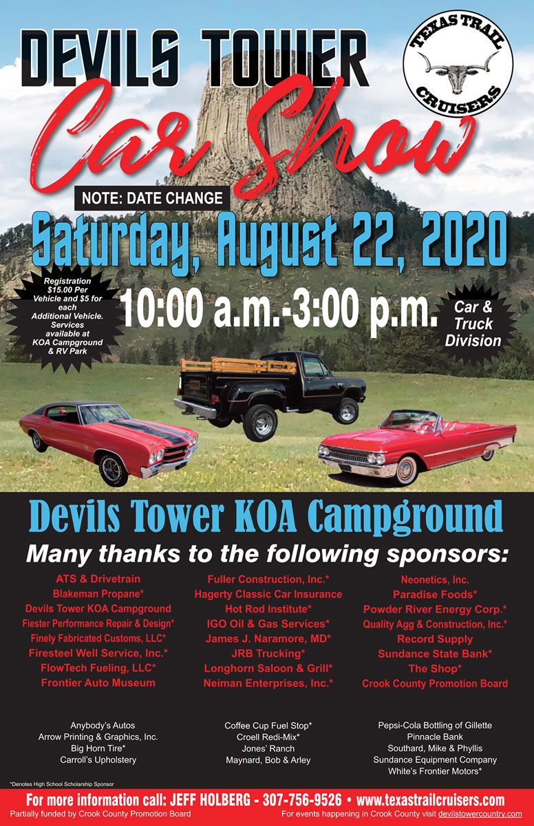 Devils tower 17th annual car show