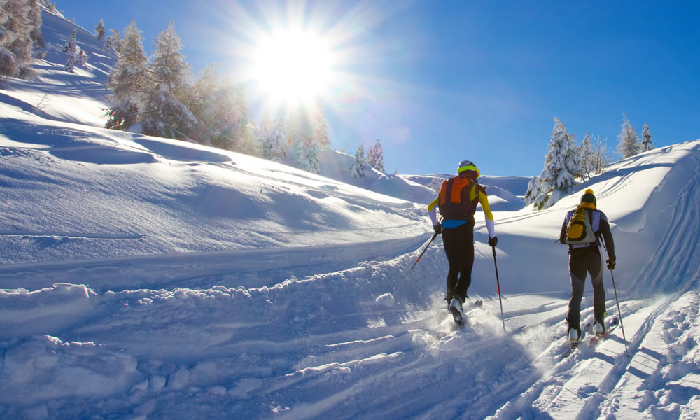 Winter is a GREAT time to explore Crook County. We have extensive snowmobiling and nordic ski trails for all experience levels.