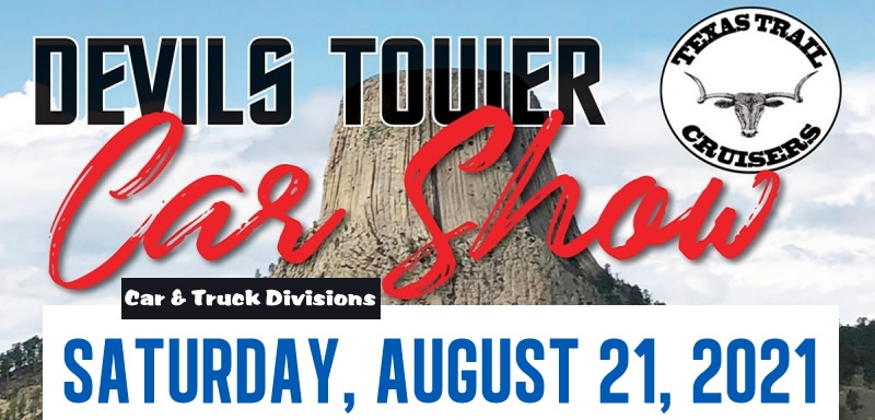 Devils Tower Car Show